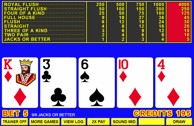 Carry Out the Video Poker Tips For Best Returns