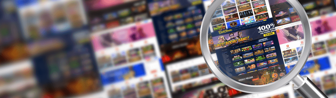 Play Slots at the Web's Best Casino