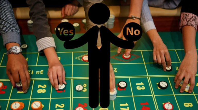 European Roulette and types of bets